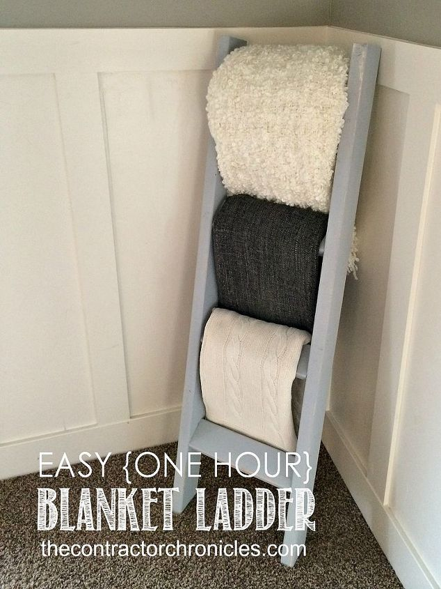 One Hour Blanket Ladder