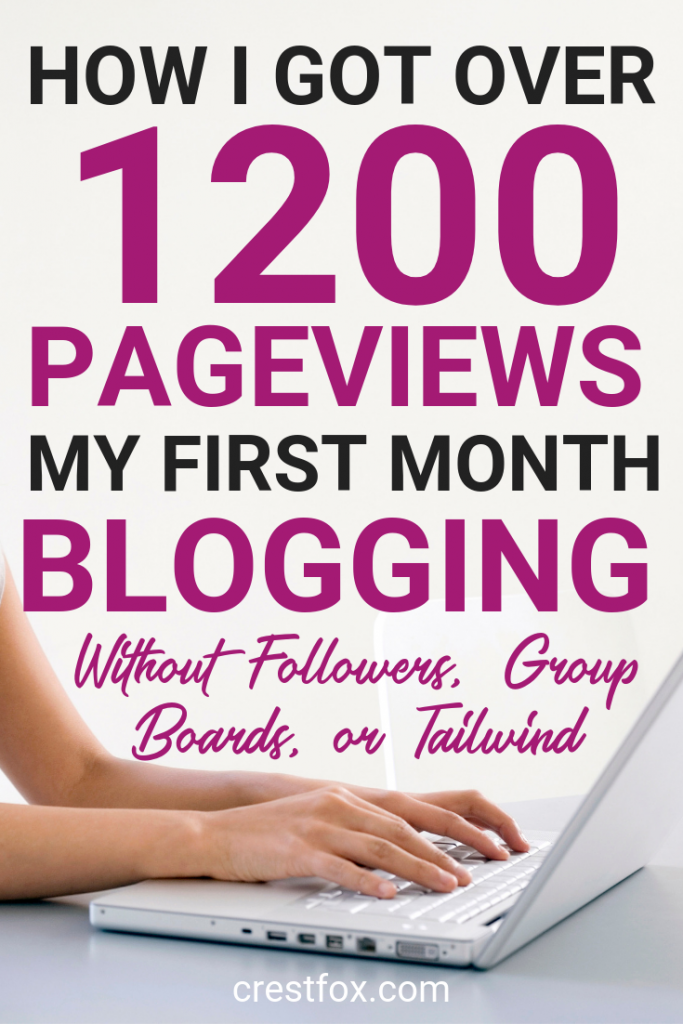 How to get page views on your new blog