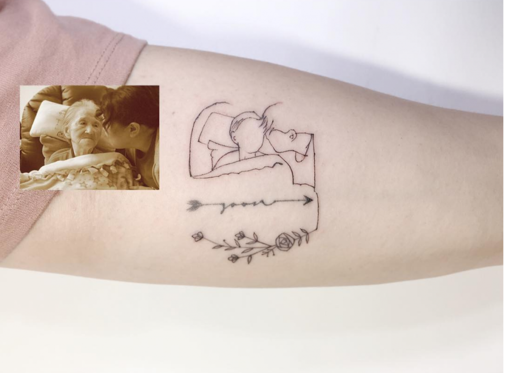 family portrait tattoo