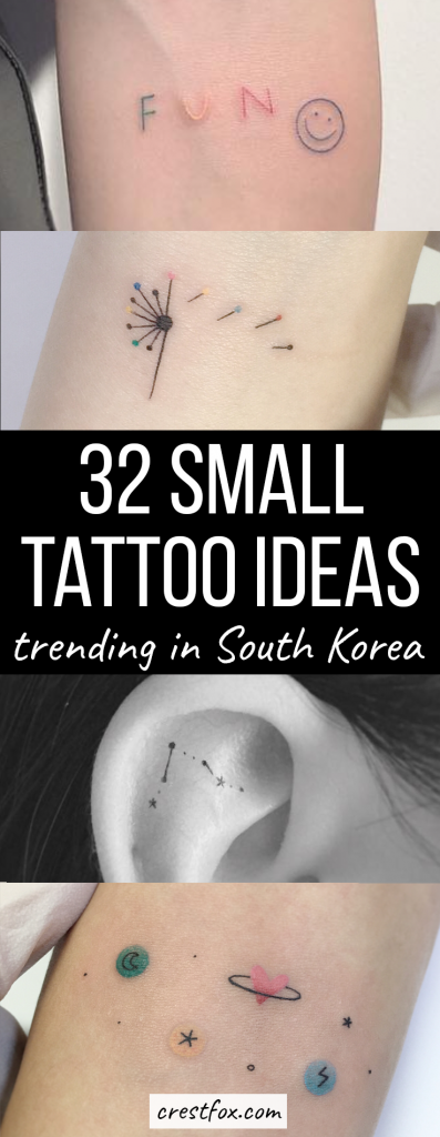 Small Tattoos for Women - 32 minimalist but meaningful tiny tattoos that you can hide on your foot, finger, wrist, or thigh
