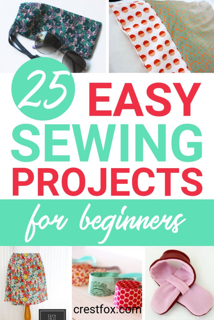 A selection of sewing projects for beginners