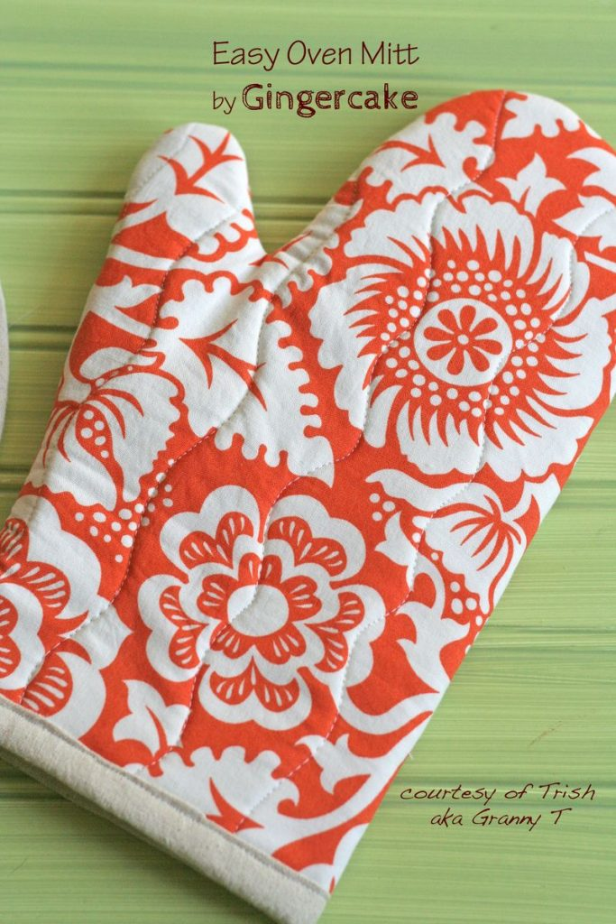 Easy Oven Mitt Sewing Project Tutorial