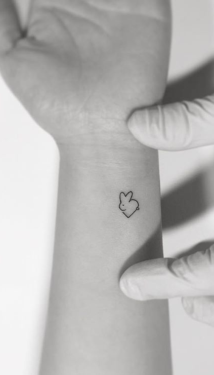 98cd153ef 75 More Small Tattoo Ideas from Playground Tattoo | crestfox