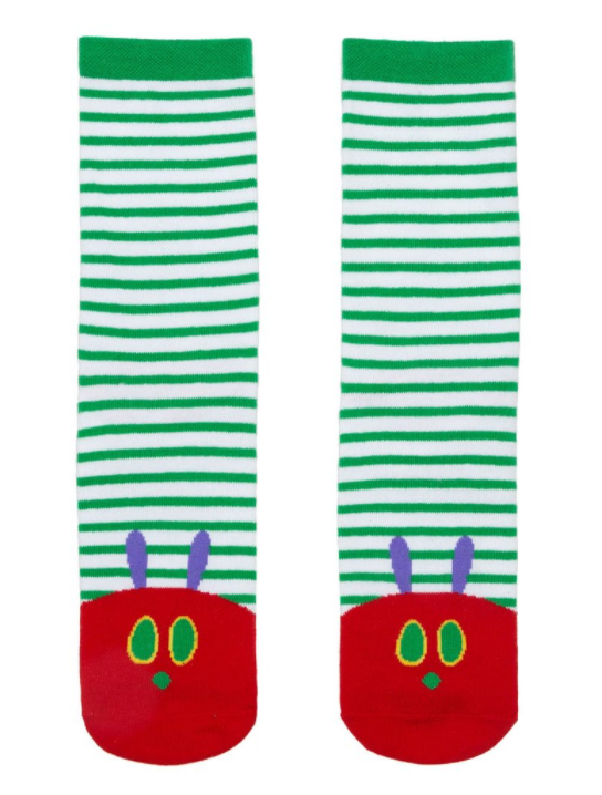 Out of Print Very Hungry Caterpillar Socks Teacher Appreciation Gift