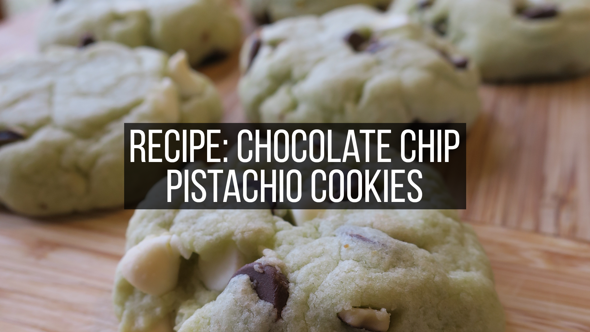 pistachio cookies featured image