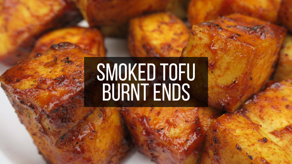 smoked tofu burnt ends featured image