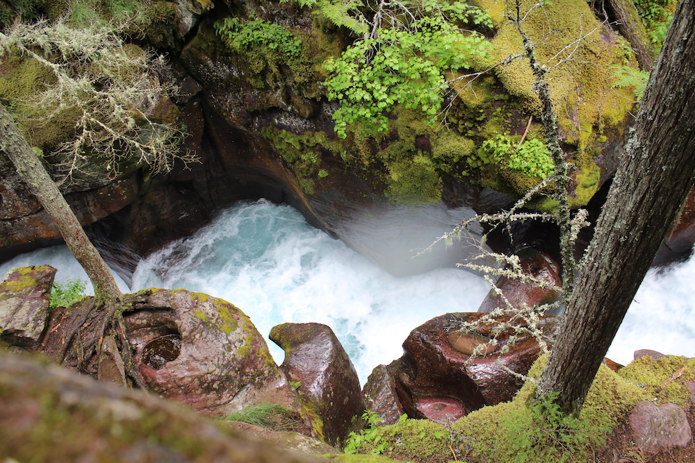 Avalanche Gorge at Glacier National Park