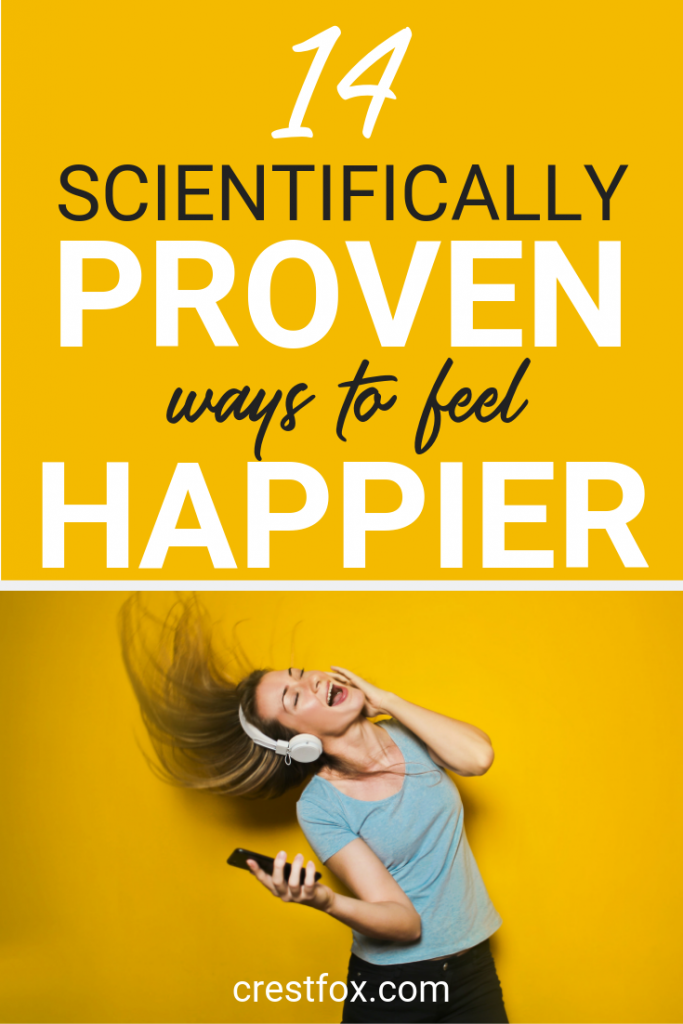 How to Feel Happier Pin for Pinterest