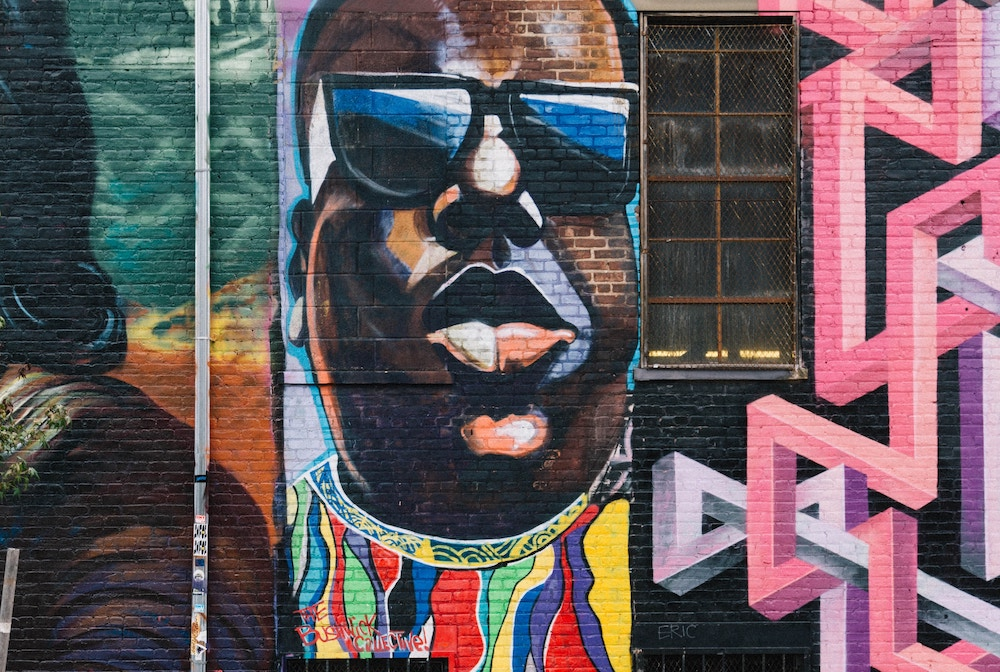 biggie smalls bushwick collective street art
