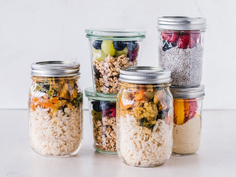 meal prep for no-spend challenge