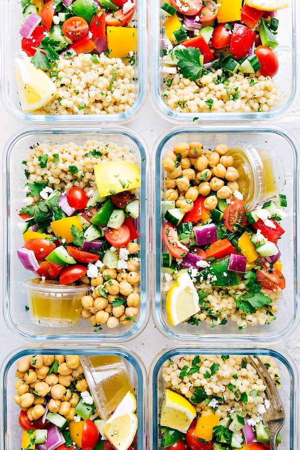 Greek Couscous Salad by Chelsea's Messy Apron