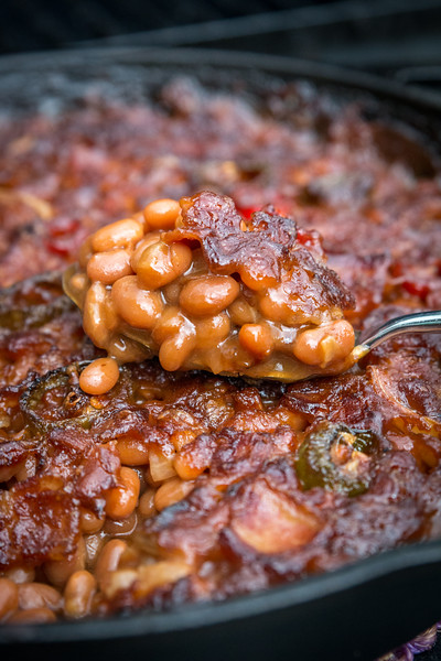 Smoked Baked Beans by Dan 330