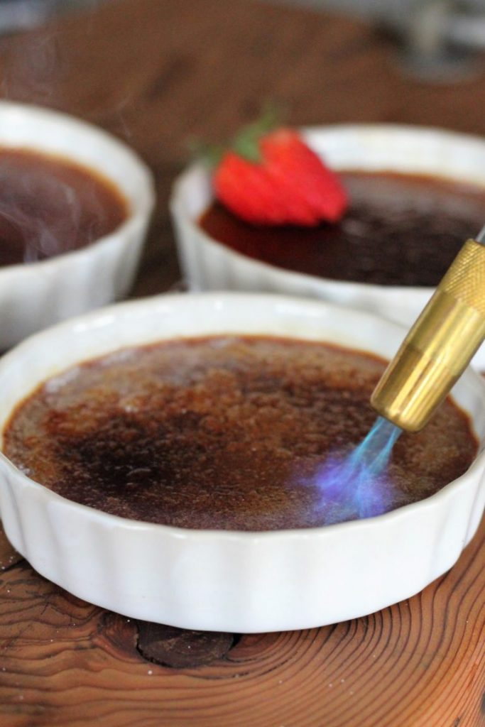 Smoky Creme Brulee by Hey Grill Hey