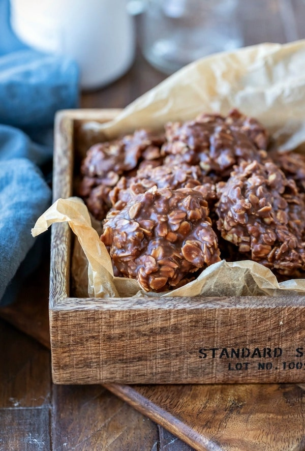 Classic No Bake Cookies by I Heart Eating