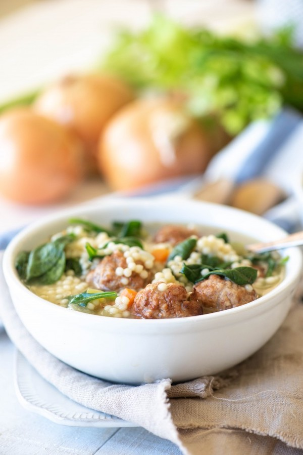 Instant Pot Italian Wedding Soup by Go Go Go Gourmet