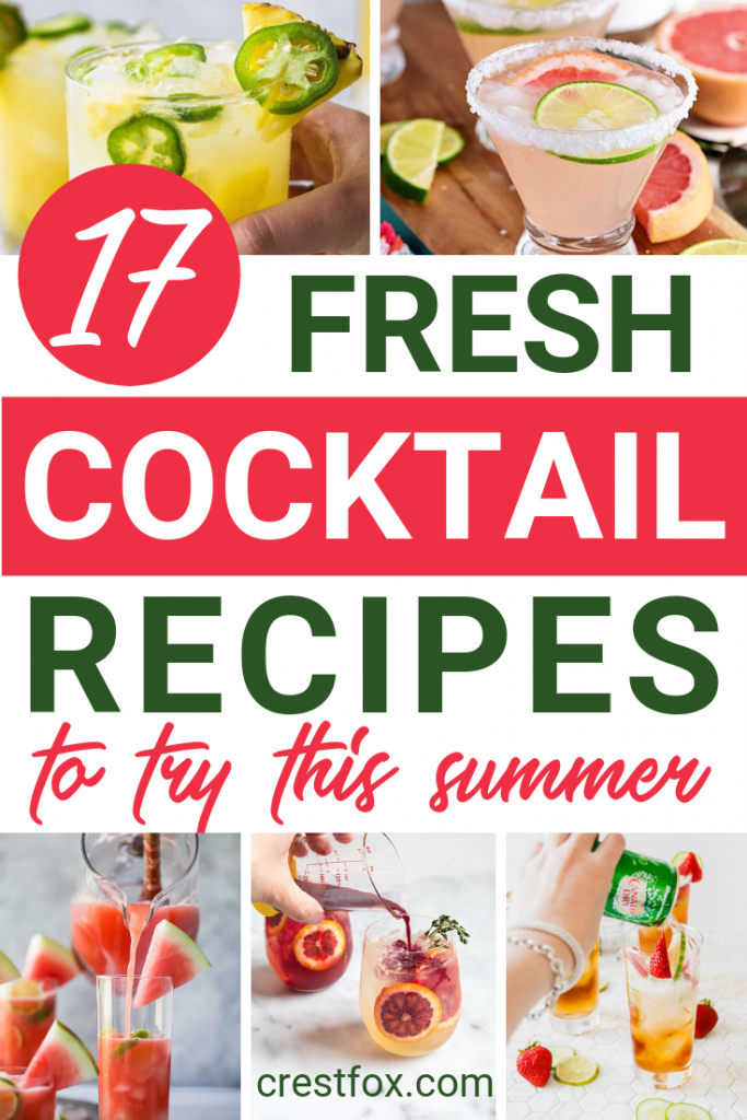 17 Summer Cocktail Recipes
